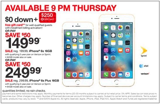 Iphone deals in certain