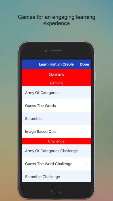 Free haitian creole language-learning application for iphone and ipod device touch well as in the study