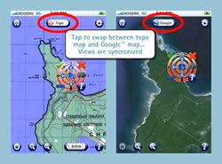 Fugawi imap topo software application for iphone